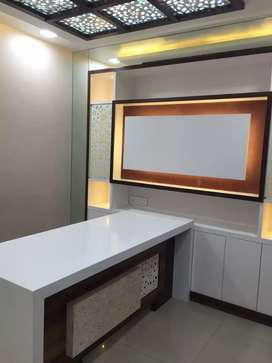 It is a fully furnished office located on third floor.
