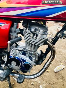 Honda125 for sale with good condition jhelum number