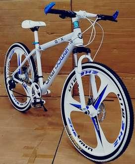 BMW Power Slick Model Mac Wheel Cycle 21 Shimano High Speed Gear Box