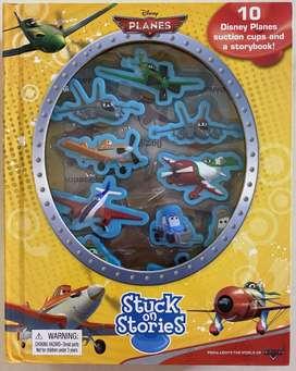Buku Anak - Disney Stuck on Stories Planes - Boardbook