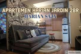 Apartemen Jardin Cihampelas harian type 2 br