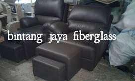 kursi refleksi hitam dakron, kursi refleksi sofa pijat refleksi
