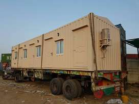 bullet proof cabin prefab homes site office available for sale Lahore