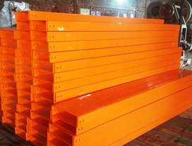Cable ladder perforated mesh SS tray Threaded rod cantilever back box