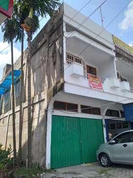 Jual ruko 2 lantai di pinggir jalan utama di tengah kota Jambi