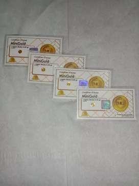 Mini gold 0.05 gram
