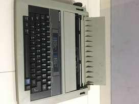 Mesin Ketik PANASONIC R305 -Typewriter Elektronik Tik