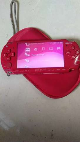 PSP slim red edition