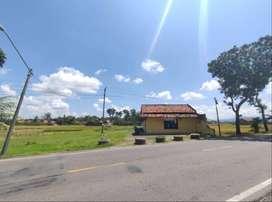 Dijual Cepat Tanah Pinggir Jalan Nasional di Kebumen paling murah (BU)