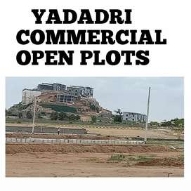 YTDA RERA APPROVED Yadadri commercial open plots just 1 km from temple