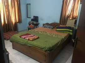 Well furnished flat with open space hall
