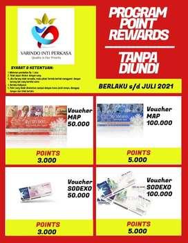 Voucher point rewards