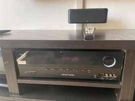 Harman Kardon 280 Watt 5.1 Channel Amplifier (AVR70, Black)
