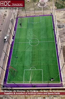 Artificial grass, astro turf sports fields and outdoor areas