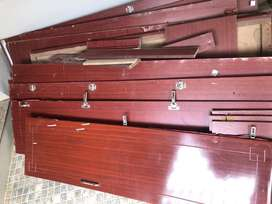 4 door wardrobe unassembled