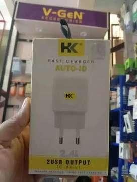 PROMO-CHARGER CARJER TC CAS HP HK V1 2 PORT USB 2.4A MIKRO-FASH+CEPAT