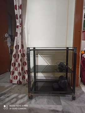 Hall Item TV stand setup