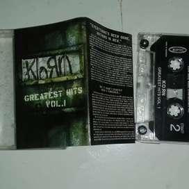 Korn greatest hit vol 1 kondisi mulus terawat eks pemakaian