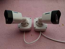 CCTV Camera - Dual Camera Installation - Water Proof Camera