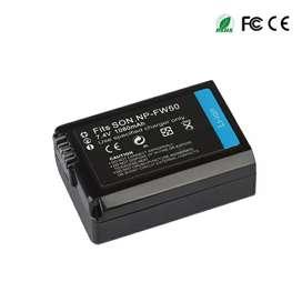 Baterai Kamera NP-FW50 for Sony Alpha a6500 a6300 a6000 a5000 - Black