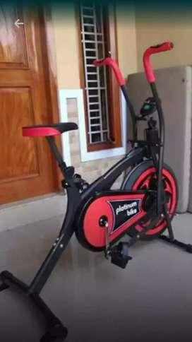 Promo awal bln sepeda statis platinum bike 2 fungsi