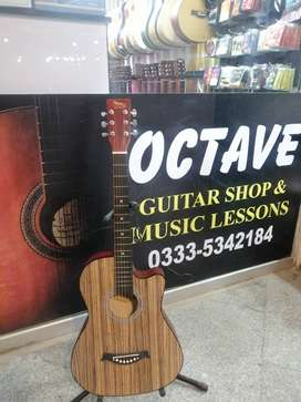 "Acoustic Guitar 38"" Natural for starter"