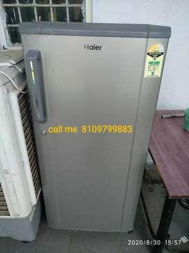 Haier refrigerator 190 Ltr single door refrigerator in new condition