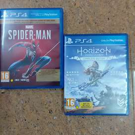 PS4 Game CD's
