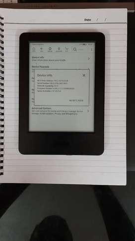 Kindle reading e book