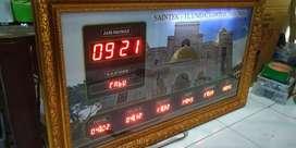 Jam sholat digital Masjid musholla surau