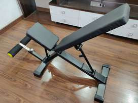 Adjustable Gym Bench for home or commercial use.