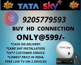 LOWEST PRICE SALE ON TATA SKY HD