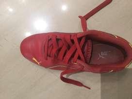 Puma Unisex Ferrari shoes size Uk 3 Us4