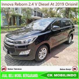 Innova Reborn 2.4 V Diesel At 2019 Orisinil Bisa Kredit