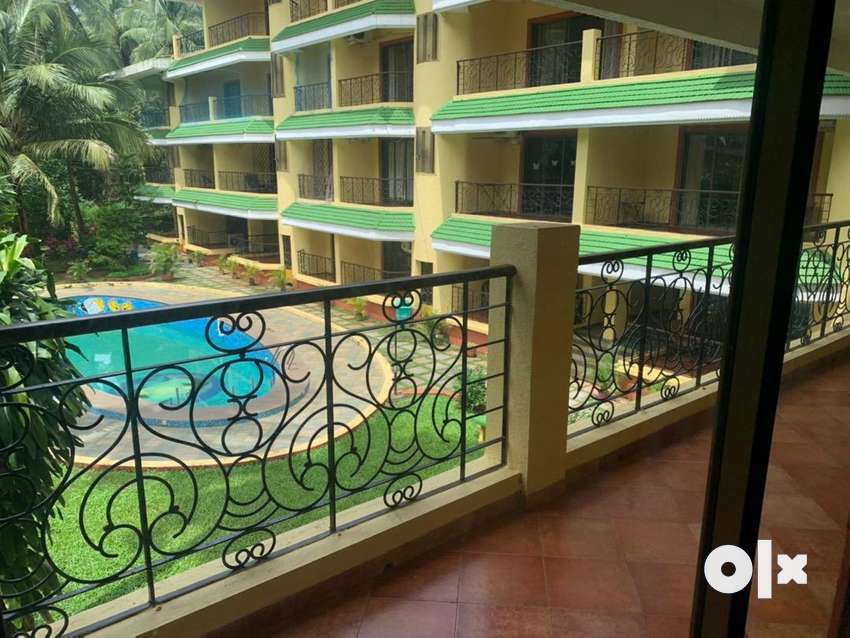 Spacious apartment 2 bhk. Furnished 0