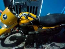 Hero Honda passion plus , Yellow color in good condition ,