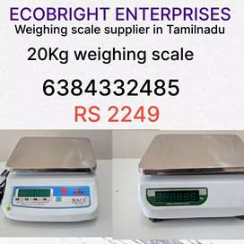 New weighing scale with one year warranty at lowest price in TamilNadu