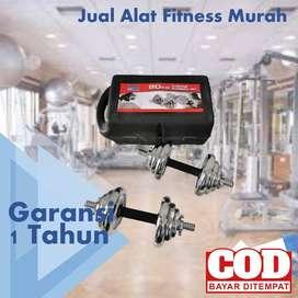 Alat Fitness Total Fitness Dumbell Set 20 Kg PALING LAKU