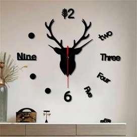 Jam dinding Giant DIY wall clock