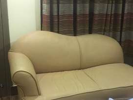 7 seater sofa with table and bed with dressing table amd mirror