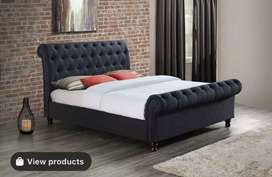 Smart bed with side tables