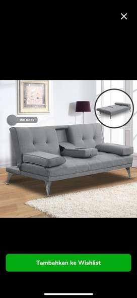 SOFA BED dengan cup holder. FREE KIRIM JADETABEK