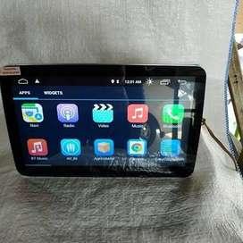 """Tv android 9"""" dan audio mobil"""