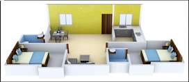 2BHK DTCP Flats for sale at Velachery(Negotiable)