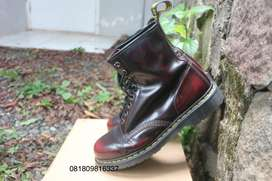 Dr Martens 1460 Arcadia Cherry Red Rouge Size 43 / 9 UK Made In China