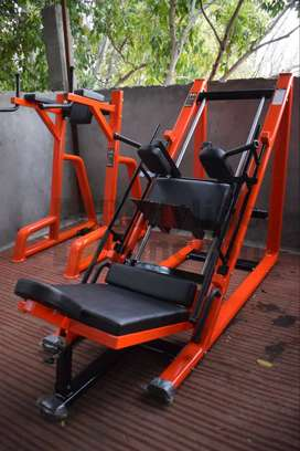 Get heavy duty gym equipment with imported look and heavy duty.