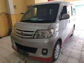 Daihatsu Luxio 1.5 tipe X Manual 2012 Silver KM 89 ribu