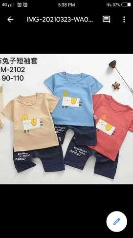 Setelan/baju anak import high quality 100%