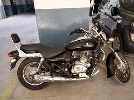 Good condition bike, black color. Driven single handedly.