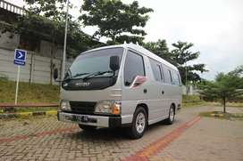 Isuzu Elf Bus paramitra short 16 seat ac ducting 2014